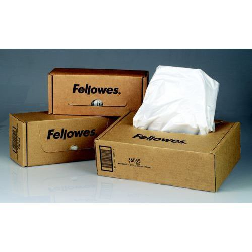 Fellowes Shredder Bags for Personal Shredders up to SB-87Cs Pack 100