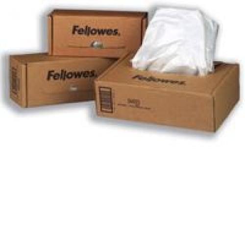 Fellowes Shredder Bags for C-380 C-480 Series Shredders Pack 50