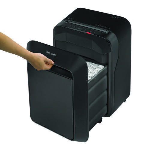 Fellowes LX211 Micro Cut Shredder Black 5050201