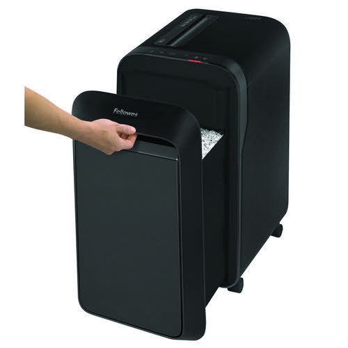 Fellowes LX221 Micro Cut Shredder Black 5050401