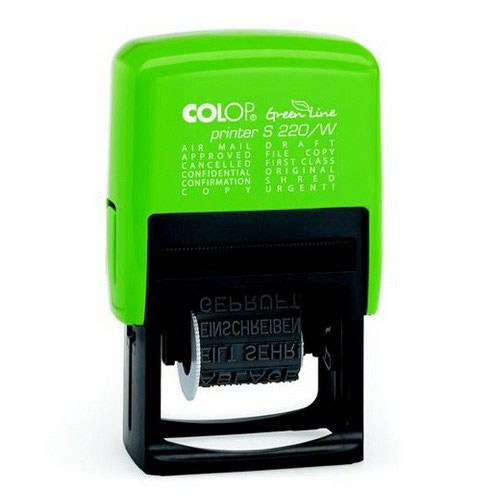 Colop GreenLine S220/W Dial-A-Phrase Stm