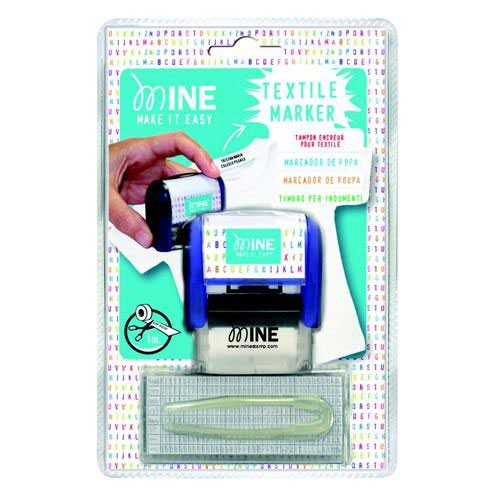 Colop Mine Self-Inking Clothing Marker Red