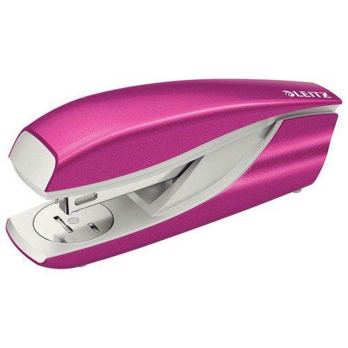 Leitz NeXXt WOW Stapler 3mm 30 Sheet Pink