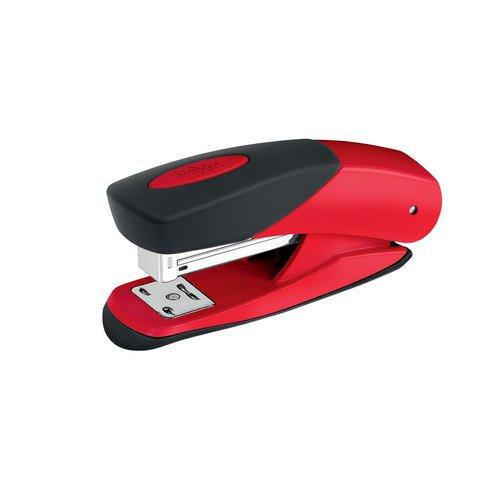 Rexel Choices Matador Half Strip Stapler Red