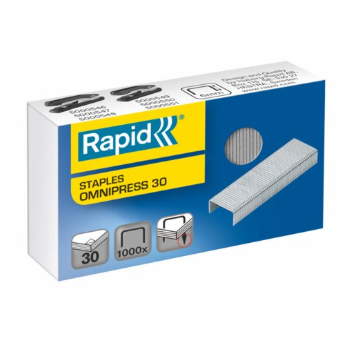 Rexel Omnipress 30 Staples