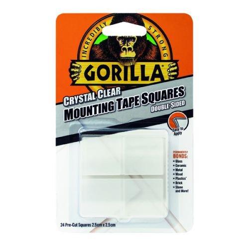 Gorilla Mounting Tape Squares