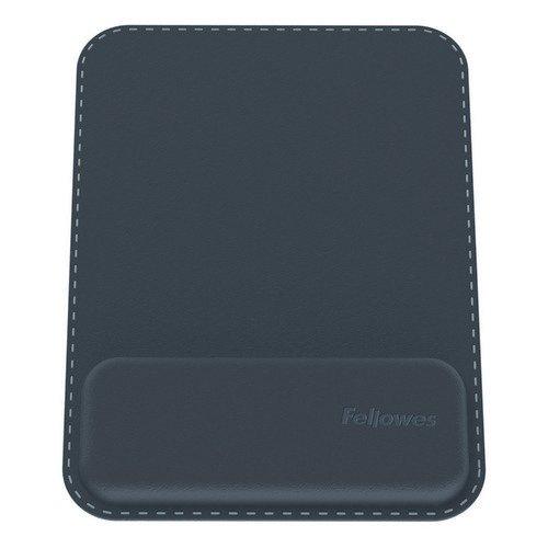Fellowes Hana Mousepad Wrist Support Black 8055501