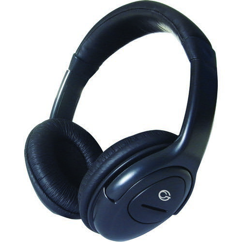HP517 Stereo PC OnEar Headset with In-Line Mic & Volume Control - Black Headphones TA3071