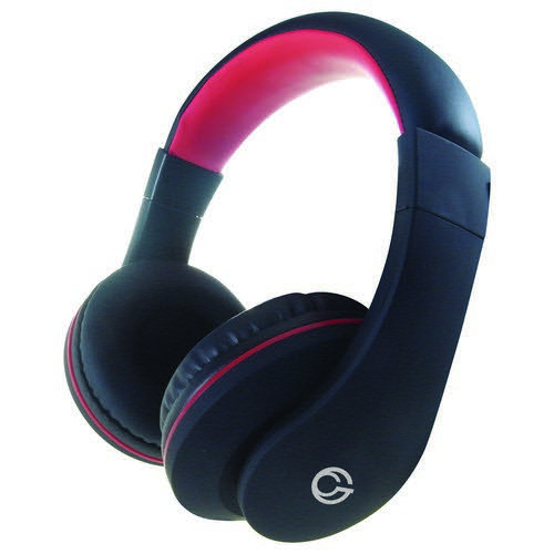 HP530 Stereo PC OnEar Headset with In-Line Mic & Volume Control - Black/Red
