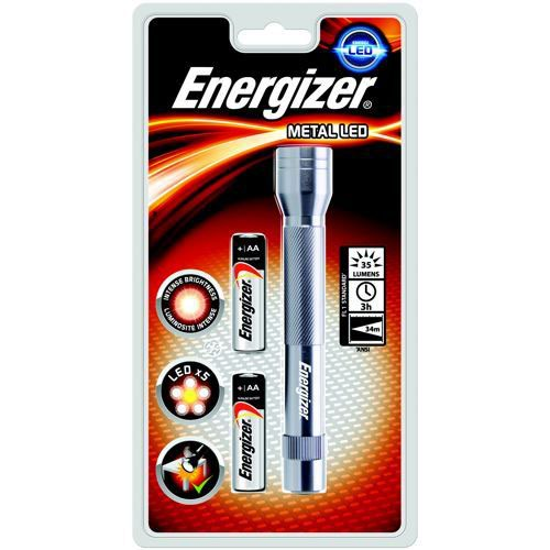 Energizer FL Metal LED + 2AA Torch