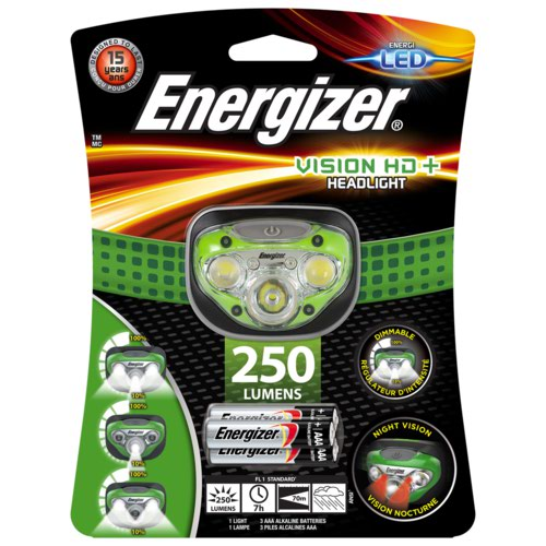 Energizer Vision Hd Plus Headlight 3xAAA