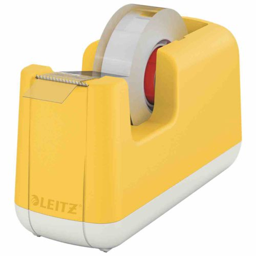 Leitz Cosy Tape Dispenser Warm Yellow
