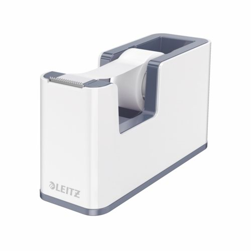 Leitz Wow Tape Dispenser Including Tape White/Grey