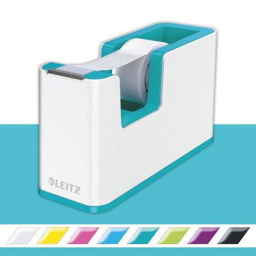 Leitz Tape Dispenser WOW Duo Colour White/Ice Blue