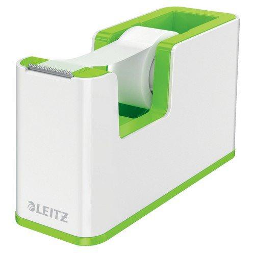 Leitz Tape Dispenser WOW Duo Colour White/Green