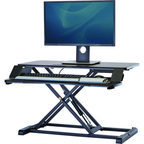 Fellowes Corsivo Workstation Desk Convertor designed for St Stand working