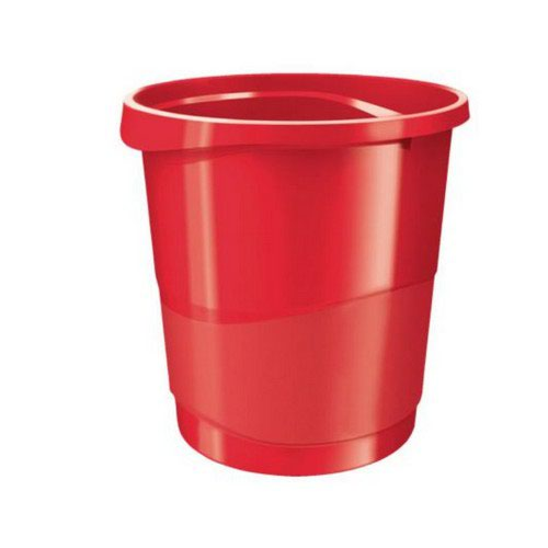 Rexel Choices Waste Bin Red