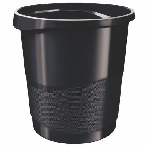Rexel Choices Waste Bin Black