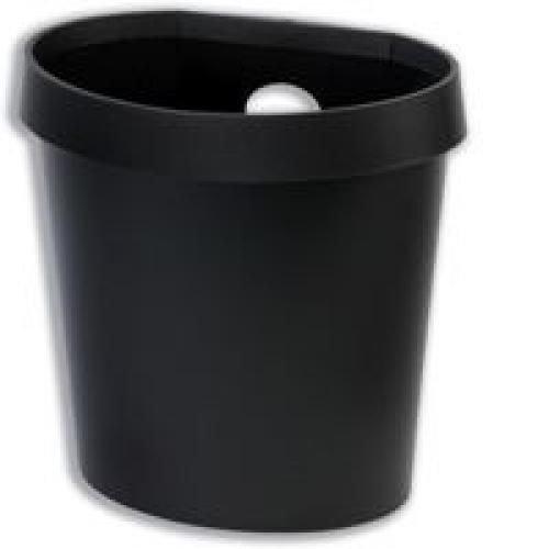 Avery Desktop Range Waste Bin Black