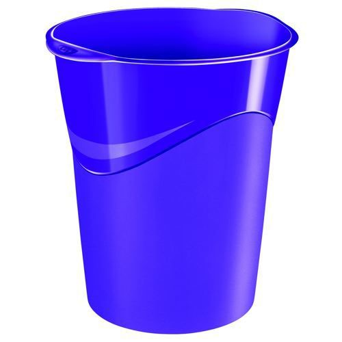 CEP Pro Gloss Waste Bin 14 Litre Capacity And Is Made Of Recyclable Polypropylene Purple