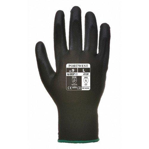 PU Palm Glove Black XS/6XXL/12 Pack 480