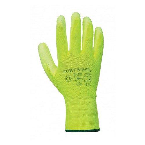 PU Palm Glove Yellow XS/6XXL/14 Pack 480