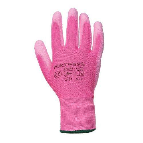 PU Palm Glove Pink XS/6XXL/16 Pack 480