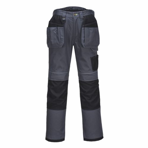 Tradesman Holster Trousers Grey/Black 2848 Pack 30