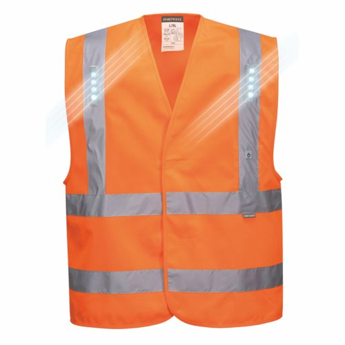 Vega HiVis LED Vest Yellow S/M/XXL/3XL Pack 60