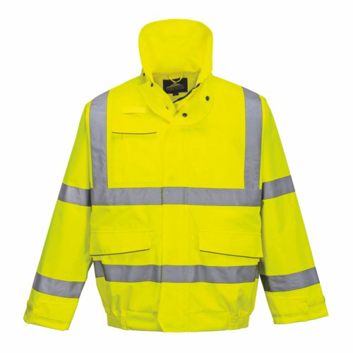 HiVis Extreme Bomber Jacket Yellow S 3XL Pack 12