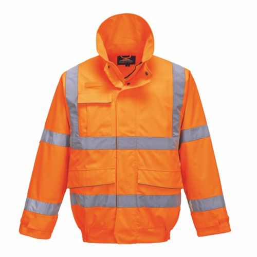 HiVis Extreme Bomber Jacket Orange S 3XL Pack 12