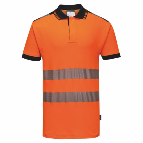 Vision HiVis Polo Shirt S-3XL Yellow Pack 48