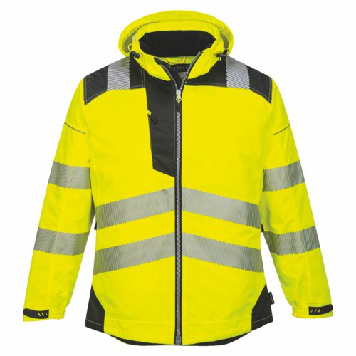 Vision HiVis RainJacket S-6XL Yellow Pack 12