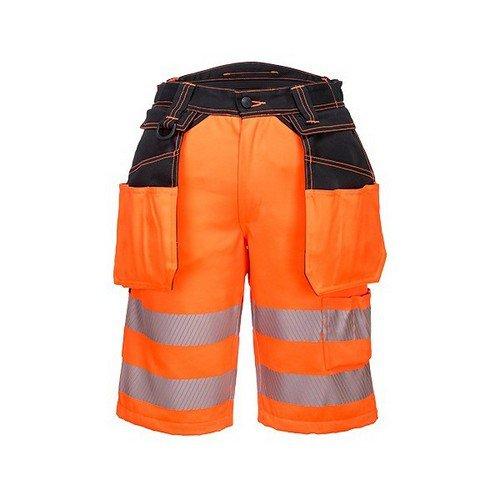 PW3 Hi-Vis Holster Shorts Orange/Black 34R