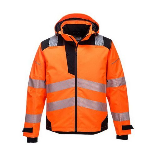 PW3 Extreme Rain Jacket Orange/Black LR