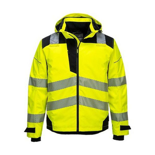 PW3 Extreme Rain Jacket Yellow/Black LR