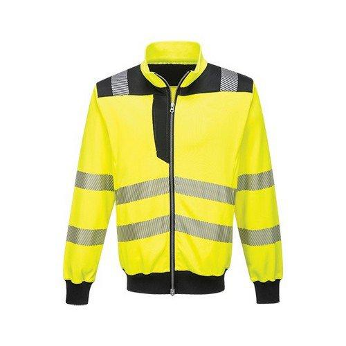 PW3 Hi-Vis Sweatshirt Yellow/Black LR