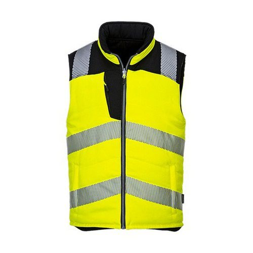 PW3 Hi-Vis Bodywarmer Yellow/Black LR
