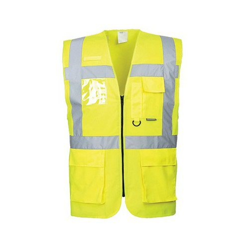 Berlin Executive Vest Yellow LR