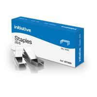 Initiative Staples 26/6mm 210 Staples Per Strip Pack 5000