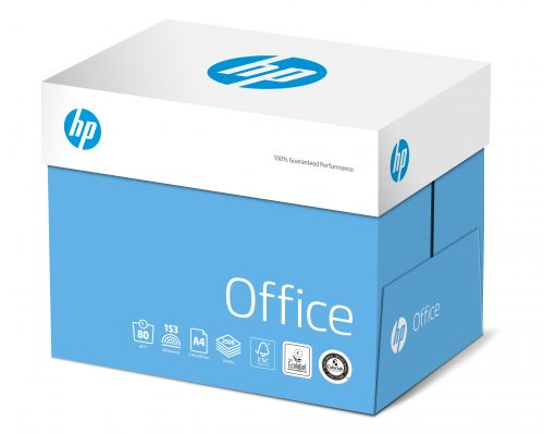 Hewlett Packard HP Office Paper Colorlok FSC 80gsm A4 Wht Ref 83873 [2500 Shts][REDEMPTION] Apr-May20