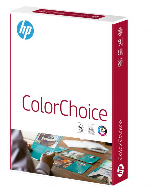 Hewlett Packard HP Color Choice Card Smooth FSC 160gsm A4 Wht Ref 94298 [250 Shts][REDEMPTION] Apr-May20