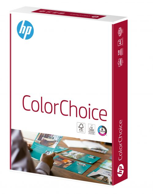 Hewlett Packard HP Color Choice Card Smooth FSC 200gsm A4 Wht Ref 94301 [250 Shts][REDEMPTION] Apr-May20