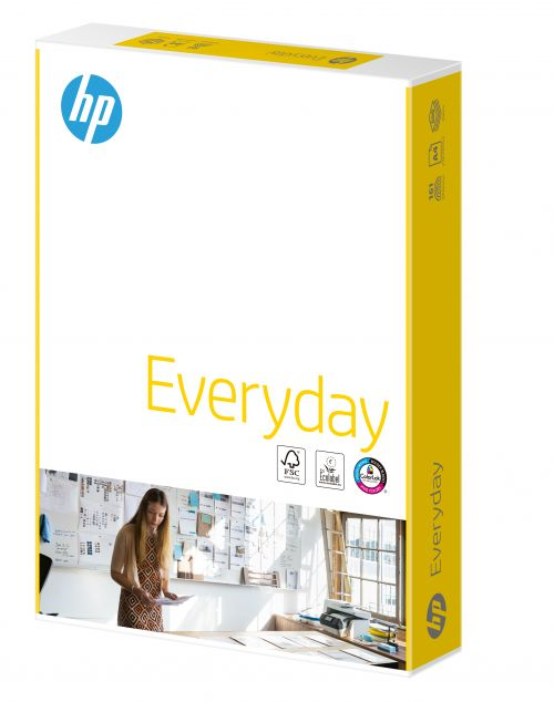Hewlett Packard HP Everyday Paper Colorlok 5xPks FSC 75gsm A4 Wht Ref87931[2500Shts]
