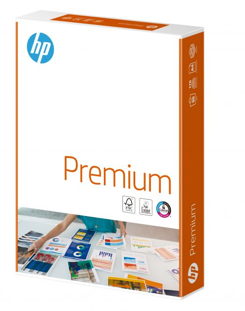 Hewlett Packard HP Premium Paper Colorlok FSC 90gsm A4 Wht Ref 94293 [500 Shts][REDEMPTION] Apr-May20