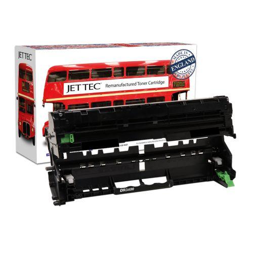 JET TEC Remanufactured Drum Unit Replaces Brother DR3400