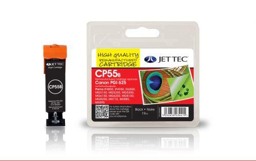 JET TEC Remanufactured Inkjet Cartridge Replaces Canon PGI525 Black Canon 4529B001