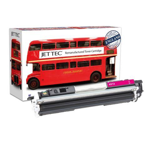 JET TEC Remanufactured HP 126A Laser Toner Cartridge Replaces HP CE313A/Canon 729M Magenta