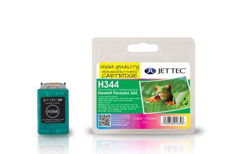 JET TEC Remanufactured Inkjet Cartridge Replaces HP 344 HP C9363EE Cyan/Magenta/Yellow Colour Pack