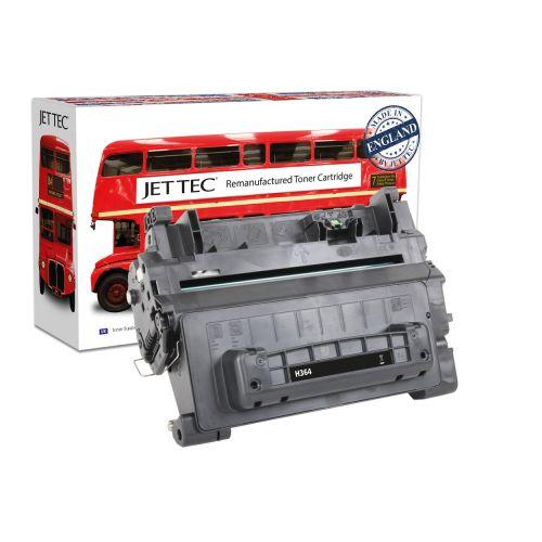 JET TEC Remanufactured HP 64A Laser Toner Cartridge Replaces HP CC364A Black